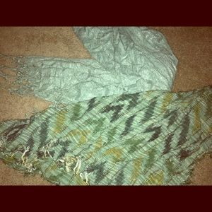 Bundle Of Two Scarves